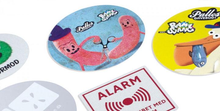 Aufkleber Und Selbstklebeetiketten Ikast Etikett