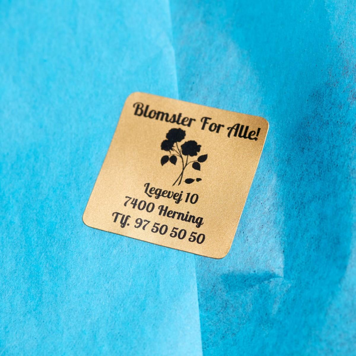 aufkleber mit logo selbst gestalten ikast etikett. Black Bedroom Furniture Sets. Home Design Ideas